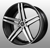 NEW!!!!! 20 or 19 inch CONCAVE BLACK MACH FACE rims w/TIRESI