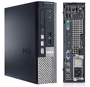 2ND GEN Dell Optiplex 790 SFF Desktop PC, Intel 3.1 CORE I3 CPU, 8GB, 320GB HD-5