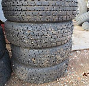215/70R16 set of 4 Cooper Winter Used (inst.bal.incl) 75% tread left