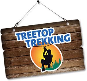 Gift Certificates / Gift Card - Tree Top Trekking x 2