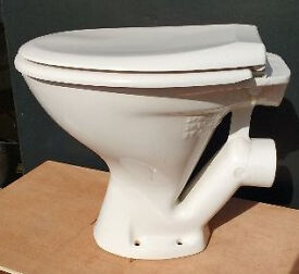 White Toilet Pan