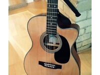 Sigma 000MC-1STE Electro Acoustic Guitar USED with Case