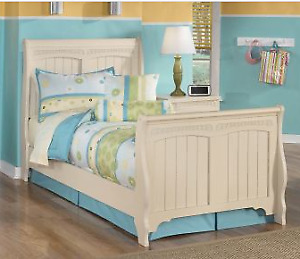 Cottage Retreat  Sleigh Twin Bed