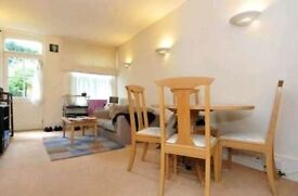A good size, one double bedroom apartment with direct communal garden access