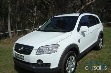 2009 Holden Captiva Wagon North Epping Hornsby Area Preview