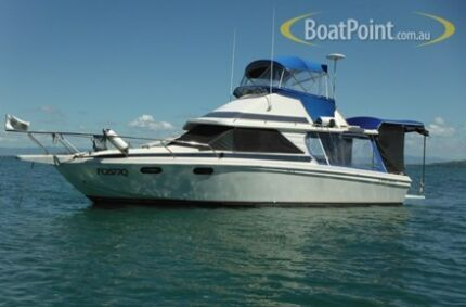 PRICE DROP!!! 28ft Flybridge Cruiser North Ward Townsville City Preview