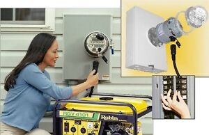 Why install a portable gas generator when the Next Power Failure
