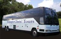 UPCOMING BUS TOURS