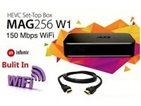 Mag box 256 W1 Set-Top Box IPTV
