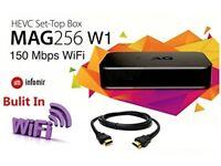 Mag 256 W1 Set-Top Box IPTV
