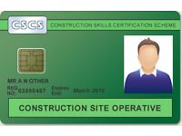Call 07940111940/ 07739385370/ 02075118187 for your FAST TRACK CSCS Green card valid for 5 years