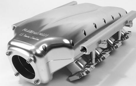Ls3 Plazmaman Billet Intake Manifold Incl Sfi Burst Panel