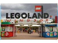 LEGOLAND Windsor 4 TICKETS