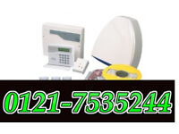 home wired alarms systems honeywell with 3 pir sensor call fr details ahd ip cctv cameras also