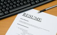 OTTAWA PROFESSIONAL RESUME WRITING SERVICE PACKAGES