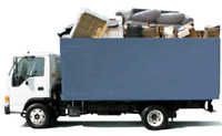 Same day junk removal. Available Now. 5 ton truck