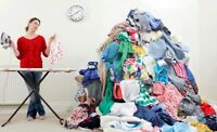 Ironing and Laundry (pick up and drop off)