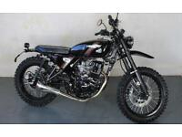 BRAND NEW HANWAY HS125 SCRAMBLER E3 8.9% FINANCE AVAILABLE £99 DEPOSIT