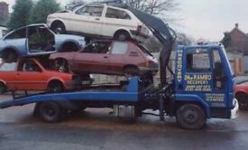 Scrap cars and vans wanted top prices paid