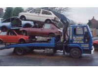 Scrap cars wanted cash paid on collection