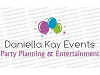 Daniella Kay Events - Party Planning Services *WE ARE NOW TAKING BOOKINGS*