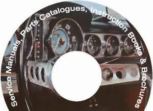 VOLVO 1800 P1800 1800S P1800S 1800ES Parts & Service Manual CD, catalogs &extra!