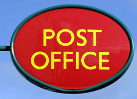 Post office Manager and Counter Clerks required -Hoddesdon