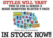 Moshi Monsters Figures Series 3 Pack