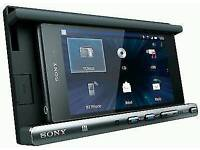 Sony XSP-N1BT Double Din Smartphone Cradle Dock Receiver Player Bluetooth USB