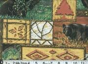 Black Bear Fabric