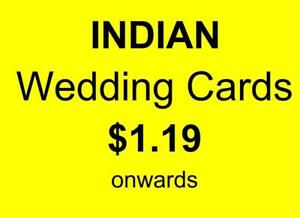 Indian Wedding Cards - With or without Printing