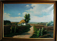 Danish original oil paintings by listed artists