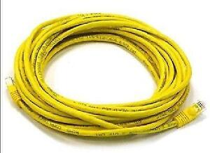 15 ft. Yellow High Quality Cat6 550MHz UTP RJ45 Ethernet Bare Co