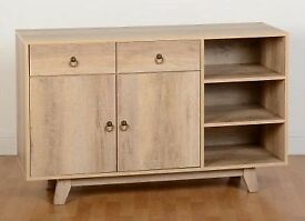 New oak effect 4ft sideboard get it today £129