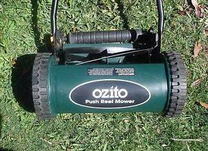 Ozito Push Reel Mower Quinns Rocks Wanneroo Area Preview