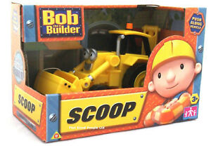 Bob the Builder Scoop Push Along Vehicle & Accessories - Brand New & Boxed