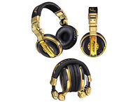dj Pioneer HDJ 1000  LimitedEdition GOLD Headphones+ ddj-sx