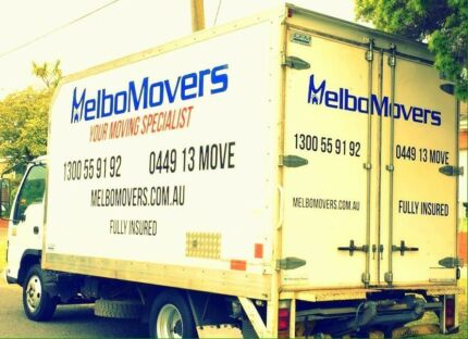 MELBO MOVERS serving all suburbs