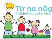 Full and Part-Time Childminding Spaces Available