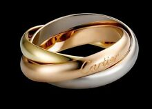Cartier Trinity Triple Wedding Band Bronte Eastern Suburbs Preview