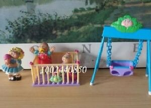 Cabbage Patch Kids Play Set with CPK figures for child's play