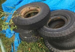 Heavy Duty Trailer Tires and Rims