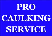 Professional caulking in Oakville - 7 days/week