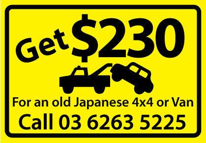 Get Cash 4 Unwanted cars, van, FWD and Trucks Hobart CBD Hobart City Preview