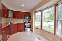 Completely Renovated 3+1 B/R,2 Kit Semi With Sep. Ent