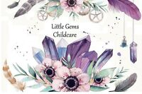 Little Gems Childcare- Offering Full time/Part time child care
