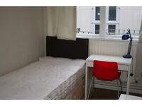 Small Box Room All Bills Included Only Rent Pay Fully Furnished Wifi Garden 5 min from Underground