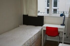 Sunny single room for rent at Liverpool street station