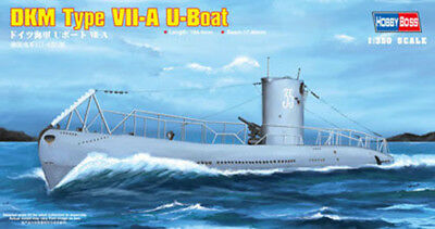 Hobby Boss 3483503 U-boot Dkm Navy Typ Vii-a 1:350 Modellbau Modell Bausatz