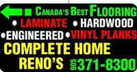 Canada's Best Flooring and Installations Complete Reno's